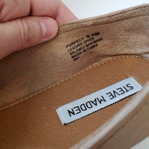 Steve Madden leather flats